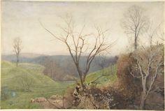John William North, Spring, watercolor, Metropolitan Museum
