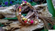 Shop for on Etsy, the place to express your creativity through the buying and selling of handmade and vintage goods. Tassels, Shops, Beaded Bracelets, Brass, Rainbow, Community, Unique Jewelry, Christmas Ornaments, Handmade Gifts