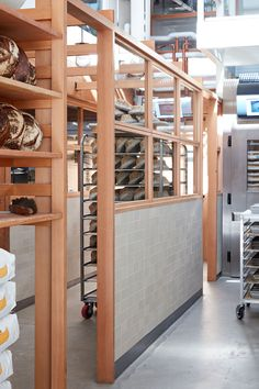 ideas bread shop interior san francisco for 2019 Plywood Furniture, Bakery Interior, Interior Design, Tartine Bakery San Francisco, Alpine Lodge, Factory Architecture, San Francisco Shopping, Bread Shop, Counter Design