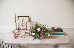 a daily something: DIY Spring Bloom arrangement