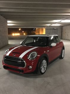 My 2017 2-door Hardtop Blazing Red Mini