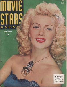 Lana Turner - Movie Stars Parade, December 1944