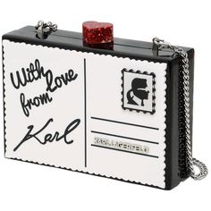 Karl Lagerfeld Women Postcard Perspex Minaudiere Clutch (4,035 MXN) ❤ liked on Polyvore featuring bags, handbags, clutches, acrylic clutches, acrylic purse, lucite purse, lucite handbags and karl lagerfeld purse