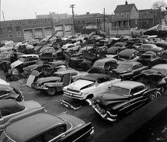 Junkyard, 1950s