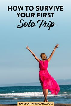 Preparing for your first solo trip? Don't panic! Instead, click to read these tips to learn what you need to know before traveling solo and how to enjoy your tip without worrying about meeting people, eating alone, or anything else. | Solo Travel | Female Travel | Solo Female Travel | Solo Travel Tips | Travel Tips | Making friends while traveling | Women Travel | Girls Travel