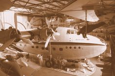 Solent Sky Museum - how often do get to investigate a flying boat for paranormal activity ?