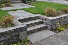 Modern Landscaping, Front Yard Landscaping, Backyard Landscaping, Landscaping Ideas, Front Walkway, Patio Ideas, Backyard Ideas, Front Porch, Landscape Plans