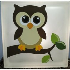 Owl Nightlight made locally by The Silho-ettes (Source: Fiddleheads Kids Shop)
