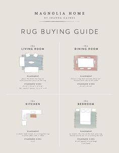 Guide to Choosing a Rug Size Room Decorating and House