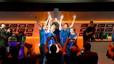 The world's first international 'Overwatch' champions have been crowned Image: ESL/Twitch  By Kellen Beck2016-08-22 19:56:00 UTC  Rogue claimed Overwatchs first-ever international championship after defeating Reunited in the ESL Atlantic Showdown grand finals Sunday.  The Atlantic Showdown featured dozens of teams from North America and Europe battling for their piece of the $100000 prize pool. Not only was this the first international Overwatch LAN tournament it was also the first Overwatch…