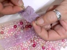 Shabby Chic Beaded Trim Tutorial - jennings644