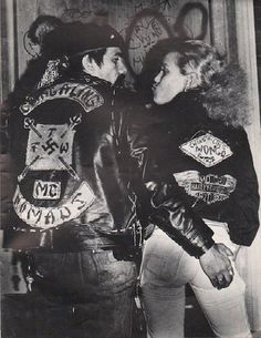 "The Puerto Rican ""Ching-A-Ling Nomads"" starting out as a street gang in the early 60's they eventually evolved into a motorcycle club. Kicked out of the Village in the early 1970's they made the Bronx their home."