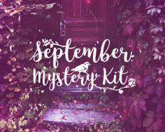 PRINTABLE September Mystery Kit Printable September planner sticker set Mystery…