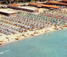 """viareggio - This is where I went to the beach when I lived in Italy...only """"way back then"""" it was not this crowded!!!"""