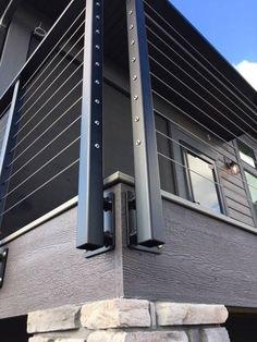 85 Cozy Backyard Patio Deck Design Ideas - Home Decor Gayam Deck Railing Design, Patio Deck Designs, Deck Railings, Deck With Pergola, Wooden Pergola, Pergola Kits, Pergola Ideas, Cheap Pergola, Deck Railing Ideas Diy
