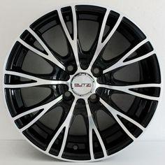 CERCHIO LEGA BUTZI ZR66 NERO LUCIDO FIAT PUNTO 6,5X15 4X100 ET35 BZR6615 Da oggi in promo su EBAY il nuovo spettacolare multirazza BUTZI nero lucido specchiato!