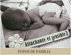 Manualidades y tendencias: #Scrapbooking: Fotos de familia / Family photos www.manualidadesytendencias.com