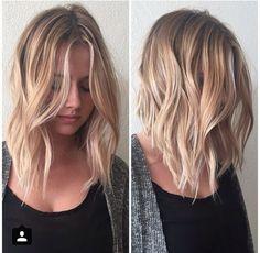 Pretty Medium Haircut - Ombre, Balayage Hairstyles 2017