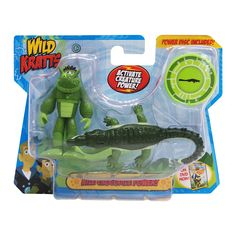 """GRACE -Each pack includes a 3"""" Kratts brother Creature Power action figure, a 4-6'' power animal action figure and a 1'' creature power disc. The Wild Kratts action figures are sculpted to look exactly like the Kratts brother and their corresponding creature pal. What creature power will you activate? Choose from the fast sprinting cheetah, powerful flying falcon, quick-striking rattlesnake or collec..."""