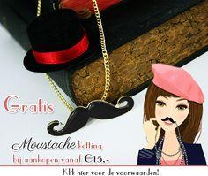 Gratis Moustache  http://www.oohlala.nl