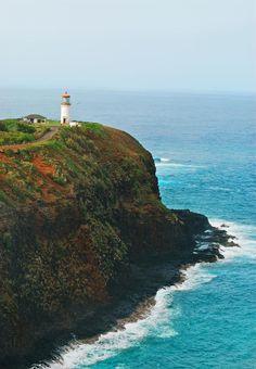 Will have to visit here! Kilauea Lighthouse, Kauai, Hawaii.