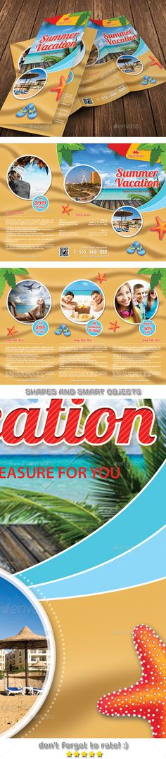 Travel Brochure Template A BiFold  Travel Brochure Template