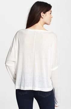 rag & bone/JEAN 'Deal' Long Sleeve Tee | Nordstrom