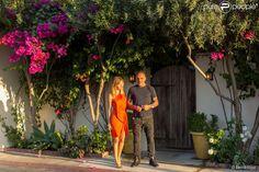 Exclusif - Christian Audigier et son épouse Nathalie Sorensen à Los Angeles, le 26 août 2013