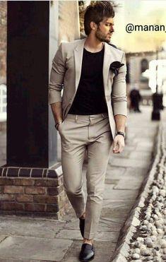 Code: 9674622653 Blazer Outfits Men, Mens Fashion Blazer, Mens Fashion Wear, Suit Fashion, Fashion Pants, Trendy Mens Fashion, Indian Men Fashion, Stylish Mens Outfits, Big Men Fashion