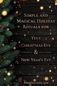Three simple and magical holiday rituals to honor the turning of the Wheel of the Year and the long nights that bring us indoors around the fire together. New Years Traditions, Christmas Traditions, Yule Traditions, Winter Christmas, Winter Holidays, Christmas Holidays, Pagan Yule, Wiccan, Magick