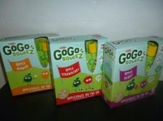 GoGo squeeZ™-A healthy and mess free snack for all ages! #GoGoPlayfully