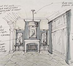 Architectural finishes sketch
