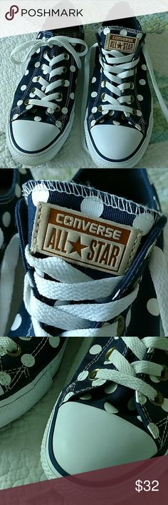 Converse All Star sneakers These are in excellent shape worn maybe once. Converse Shoes