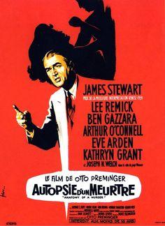 1960 Acteur second rôle Arthur O'CONNELL 1960 Acteur Dramatique James STEWART 1960 Film Dramatique Otto PREMINGER