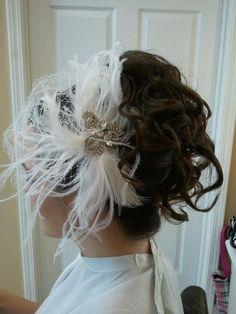 Added By Lisa Lear. #wedding #veil #hair  @bloomdotcom