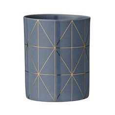 Bloomingville candleholder grey-gold - 7.8 cm - Bloomingville