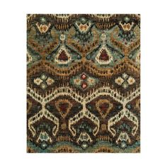This intricately designed rug is rich in deep bejeweled colors and perfect for styles as varied as bohemian chic to contemporary. Used as an accent piece in any room or the main attraction, the Bejewel...  Find the Bejeweled Rug, as seen in the Textile Collection at http://dotandbo.com/category/decor-and-pillows/rugs/textile?utm_source=pinterest&utm_medium=organic&db_sku=LOI0067-5686
