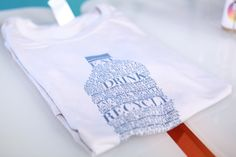 Thanks to Plastic Make It Possible @plasticpossible - for sporting Rethink tees at the NY Food and Wine Festival….they help divert at least 24,000 plastic bottles from land fills and oceans by using our shirts!