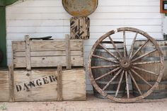 Picture of Vintage western display in Texas | PlanetWare