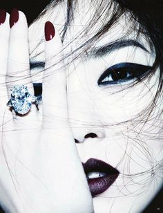 Liu Wen | photography by Ben Hassett for Vogue Germany, September 2012