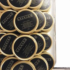 I can even handle how amazing these custom travel candles for @lacquer_official are  by simplycurated