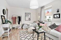 Clever, Designer-Approved Bedroom Decor Ideas For Tiny Apartments - DesignTAXI.com