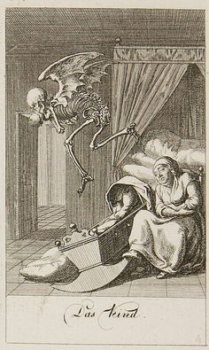 Nickolaus Chodowiecki , from his Dance of Death series {c.1791}