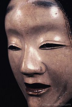 I think Noh masks can be kind of scary too. 能面「白曲見」