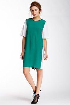 LOVE Moschino Colorblock Shift Dress