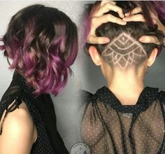 Beautiful Undercut Aline Bob | Hairdo's | Pinterest | Beautiful ...