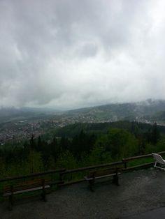 Bayrischer Wald-regen