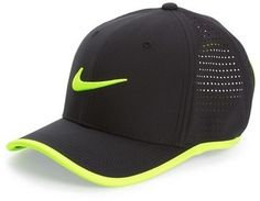 Mesh insets add ventilation to a lightweight, moisture-wicking cap designed to keep you cool and shaded. Adjustable hook-and-loop closure. 100% polyester. Hand wash warm, line dry. By Nike