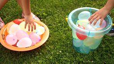Summer Fun–Water Balloon Games