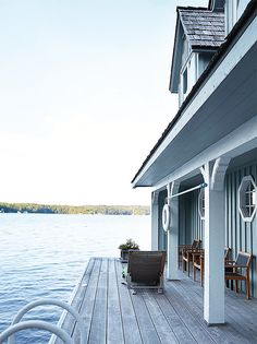 With a prime location and an interior in need of a refresh, this lakeside cottage in Muskoka, Ontario, got a major update with some strategic decorating. Homeowner Candice was planning on a full overhaul, but soon she realized the space didn't need a renovation to make it her family's dream space. Enter Toronto-based decorator Virginie Martocq, who happily agreed to …